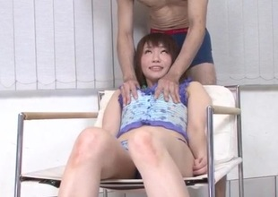 Strong Japanese bondage fuck for tightВ Kana MimuraВ