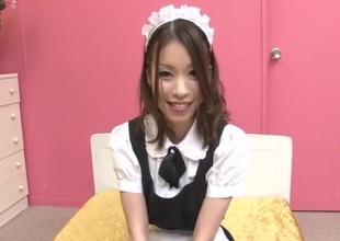 Nao Kojima Japanese maid bonks with her master