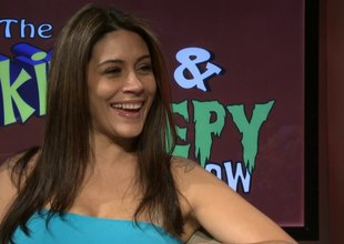 Cute pornstar Raylene is interviewed by Samantha Ryan