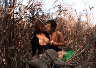 Akane Mochida, Naughty Oriental Bimbo Fucks Outdoors
