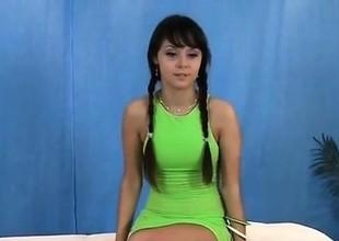 Hot underware massage angel rubbed