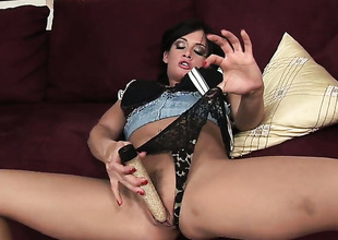 Breathtakingly hot cutie Tory Lane gets her back door opened by anal intruder