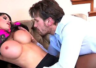 Manuel Ferrara is horny as Tophet and cant expect any more to screw glamorous Eva Kareras mouth after anal sex
