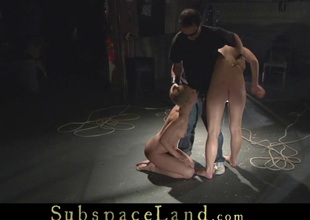 Teens restrained and harsh used