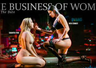 Samantha Rone & India Summer in The Business of Women Part One: The Date Movie scene
