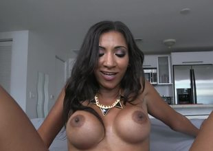 A Latina that has a fine ass is getting some much needed anal pounding