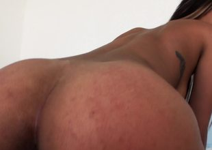 A big ass princess with a nice shaved pussy is penetrated deeply