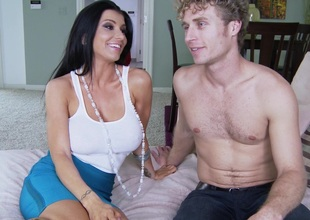 Wicked porn hot chick Romi Rain gets fucked hardcore doggystyle