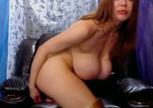 Busty hardcore MILF double penetrated