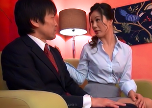 Amateur Maeda Gives The Best Hand Jobs