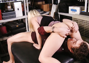 Xander Corvus attacks amazing Madison IvyS snatch with his love torpedo