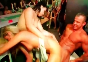 Nymphos fucked by strippers convenient fuckfest