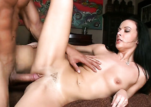Violet Marcelle gives stroke job