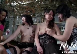 MMV FILMS German Amateur Lesbian Teenies