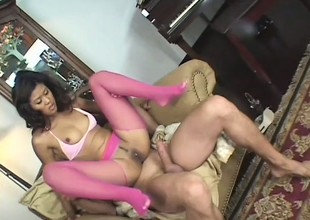 Slutty Oriental chick spreads her legs for a unfathomable dick indoctrination