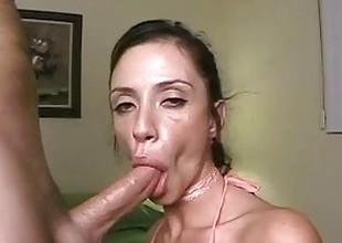 Ariella Ferrera - sensual sloppy engulf 1