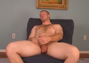 Ginger gay gets oral stimulation