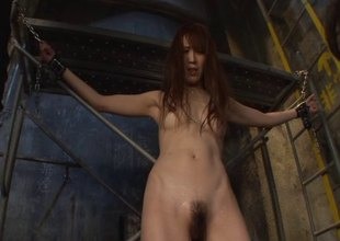 Dungeon pleasures and big sticky facials with a Japanese beauty