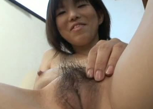 Busty Japanese whore is enjoying intense toy fuck session