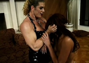 Dirty thrall Donita takes as much abusive punishment as this babe can handle