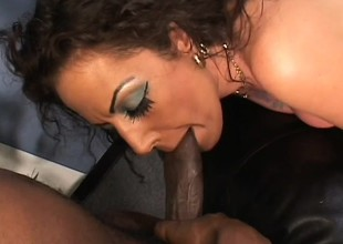 Angelica Lauren gets loud and nasty as this babe takes some rough dicking