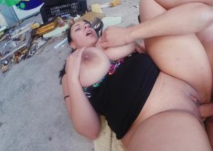 Passion makes fucker do his job right in rubbish dump