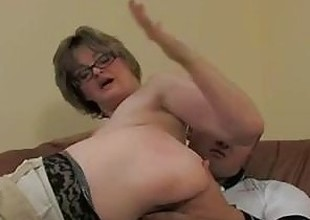 Russian moms and boys anal