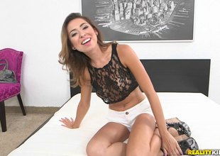 This chab bonks Melissa Moore unfathomable and makes her cum on his dick