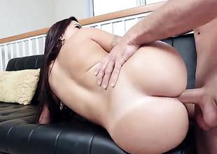 Julianna Vega is giving a blow job