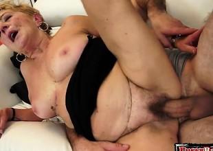 Sexy secretary pussy penetration
