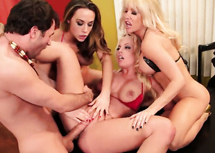 James Deen attacks completely cute Helly Mae HellfireS muff with his love torpedo