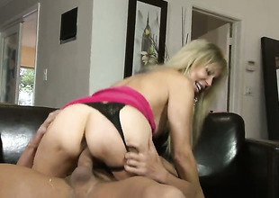 Will Powers is one hard-cocked dude who loves fucking Erica Lauren in her a-hole way after she gets her throat used