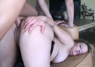 Lusty blonde Golden Jade has been on the hunt for some fresh cock