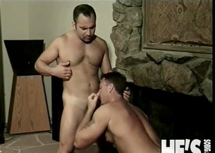 Patrick Ives and Tanner Reeves have at no time met before...until tonight! They hooked up during the time that dancing at a local club and really hit it off. Patrick invites Tanner back to his place for a drink and before you know it Tanner is bent over with Patrick's hard c