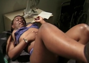 Big dick to fuck my narrow down straits black pussy after getting muff diving