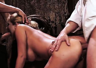 Trina Michaels has fire in her eyes as she gets her pretty face painted with sticky nectar after sex with sexy dude