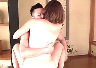 Skinny small titty Japanese mamma Seira Matsuoka gets her exotic shaved cunt heavily fucked in japanese porn video. Watch oriental slut get doggystyled and ride on top of shlong cowgirl style.