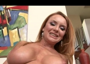 Blonde MILF has made love at the next door