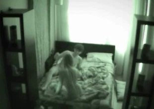 Huge having sex performance onto spycam