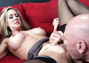 Brandi Love and horny guy Johnny Sins have a lot of sexual energy to spend