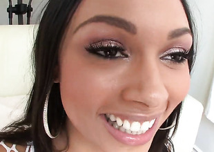 Bethany Benz takes guys stiff tool deep in her mouth