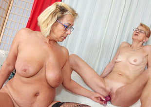 Milli & Beata A in My Grandma's A Lesbian #03 Video