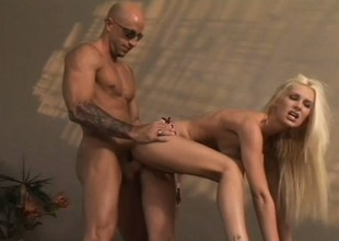 Brandi Edwards is a nasty golden-haired doxy who can't live without getting fucked