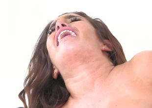 Mila Marx anally drilled by his extra thick cock