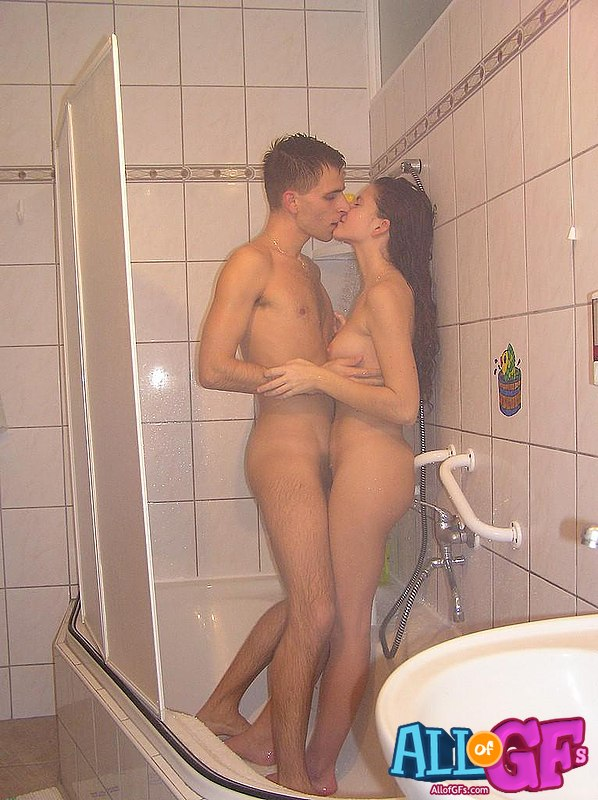 amateur girlfriend shower